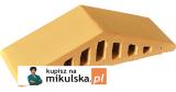 RÓŻA PUSTYNI Daszek dwuspadowy klinkierowy na murek PRZYSUCHA D306
