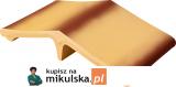 RÓŻA PUSTYNI TON Łącznik - daszek dwuspadowy klinkierowy na słupek 44,5x25cm PRZYSUCHA D328ł