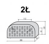SAHARA MIODOWA cegła maszynowa perforowana S776 CRH