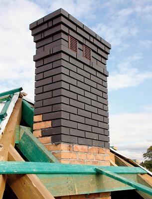 Komin z cegły