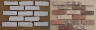 Do malowania - płytka ręcznie formowana B0792