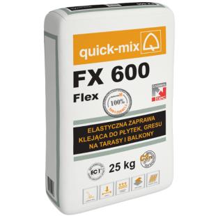 `FX 600 Klinkier Elastyczna Zaprawa klejąca do klinkieru