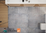 Montego Grafit Płytki podłogowe M7707 Cerrad