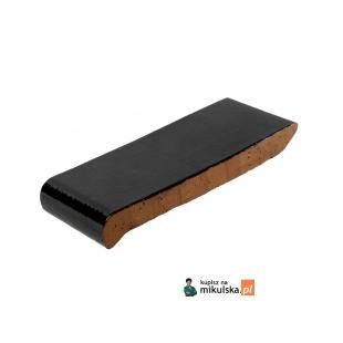 Okapnik Czarno- Brązowy Szkliwiony O572 długości 18cm, 23cm, 28cm, 30cm