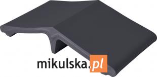 NOC POLARNA Łącznik - daszek dwuspadowy klinkierowy  na słupek 44,5x25cm PRZYSUCHA D639ł