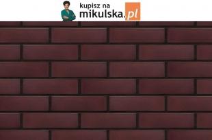 KARMAZYNOWA WYSPA płytka elewacyjna King Klinkier / PRZYSUCHA
