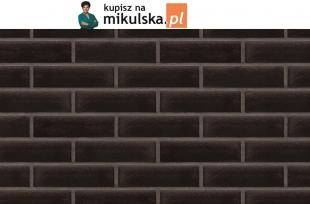 ONYKSOWA CZERŃ płytka elewacyjna King Klinkier /  PRZYSUCHA